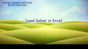 Excel Tutorial: How To Load Solver In Excel (Mac) | ExcelProf.com